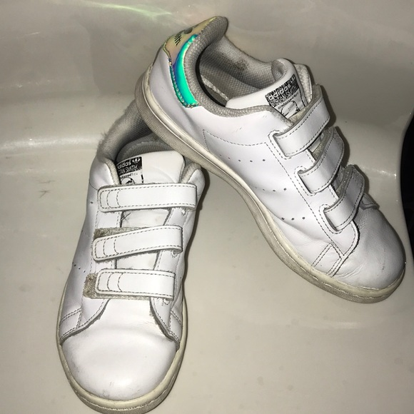 Girl Stan Smith shoes white size 3